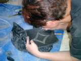 Tierrafino  Stone Tadelakt Scrafito aanleggen